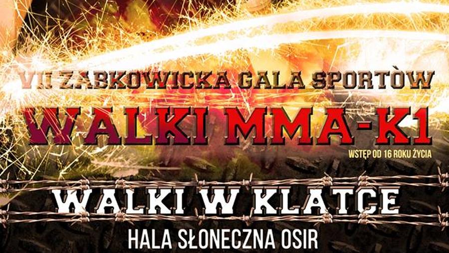 Wyniki VII Ząbkowickiej Gali Sportów Walki MMA i K1