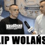 Filip Wolański przed KSW 37: Walka z Łukaszem to kolejna przeszkoda w mojej drodze po pas! [WIDEO]