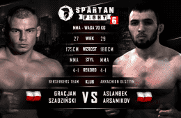 Gracjan Spartan Fight 6