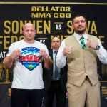 Fedor Emelianenko i Matt Mitrione twarzą w twarz przed galą Bellator 180 w NYC [WIDEO]