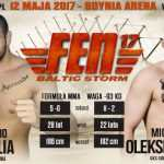 Nosiglia vs. Oleksiejczuk kolejnym starciem na FEN 17: Baltic Storm w Gdyni