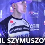 Szymuszowski po KSW 38: Chciałem pokazać, że nie spękam przed gościem, który ma 100 walk w boksie! [WIDEO]