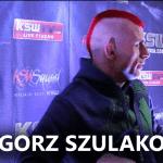 Grzegorz Szulakowski po KSW 38: Mówią, że mam zrytą psychikę w MMA [WIDEO]