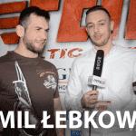 Kamil Łebkowski po FEN 17: Cały czas mam nadzieję na walkę z Machado! [WIDEO]