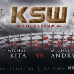 Ciekawostki przed KSW 39: Colosseum – Kita vs. Andryszak