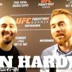 Dan Hardy o UFC w Gdańsku, polskich kibicach, Joannie Jędrzejczyk, Marcinie Tyburze i… pierogach [WIDEO]