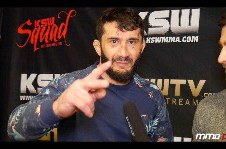 Mamed Khalidov wywiad po ksw 42