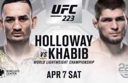 UFC 223 rozpiska