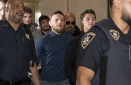 Conor McGregor zatrzymany przez policję po chuligańskim wybryku, MMAFighting
