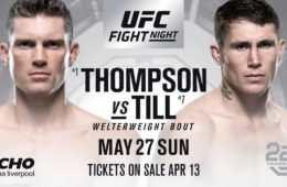 UFC Fight Night 130: rozpiska, transmisja