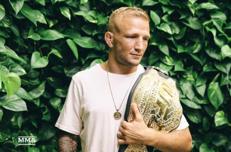 TJ Dillashaw drwi z UFC