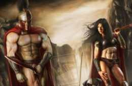 Sparta była polis, w którym bardzo zwracano uwagę na rozwój fizyczny, Zdjęcie: metal - gaia.com