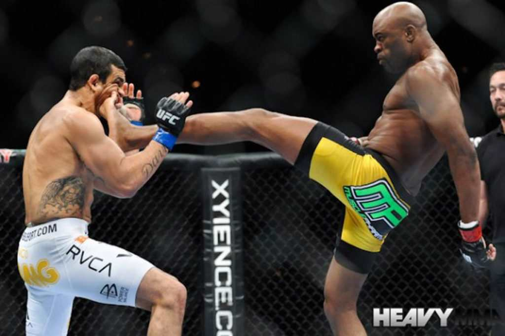 Anderson Silva to legenda UFC, MMAmania.com