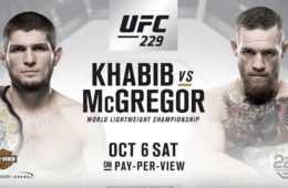 UFC 229 drugą najbardziej dochodową