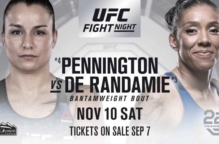 Raquel Pennington vs. Germaine de Randamie
