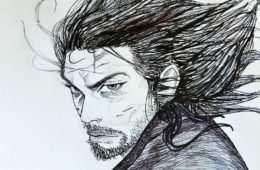 Miyamoto Musashi - mistrz miecza, Autor: K-KWILL/deviantart.com
