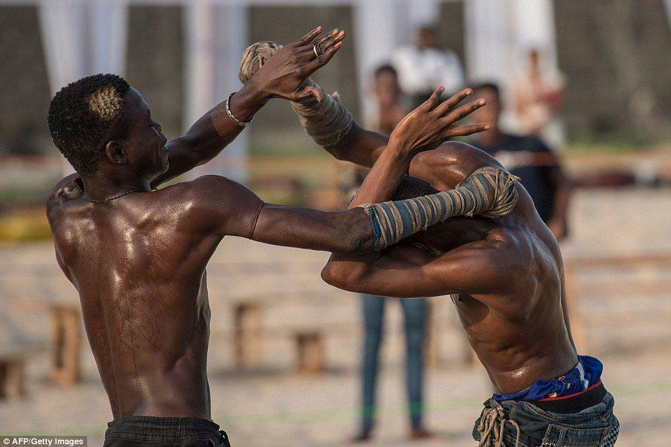 Dambe to emocjonująca dyscyplina, AFP/Gettyimages