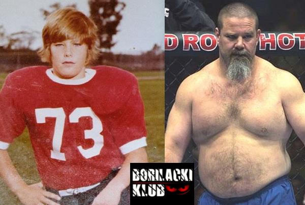 Tank Abbott w młodości trenował również football amerykański, fistfightdrama. com
