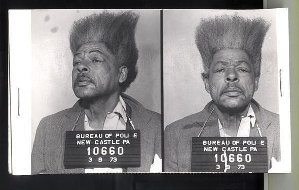 Don King jako zatrzymany, Zdjęcie: Ohio Police