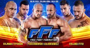 """Konkurencja do FAME MMA! Oto szczegóły pierwszej gali FFF MMA - Najman, """"Trybson"""", brat Pudziana..."""