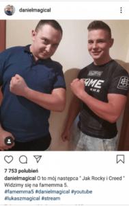 Daniel Magical wyszedł z więzienia i ponownie zobaczymy go na FAME MMA