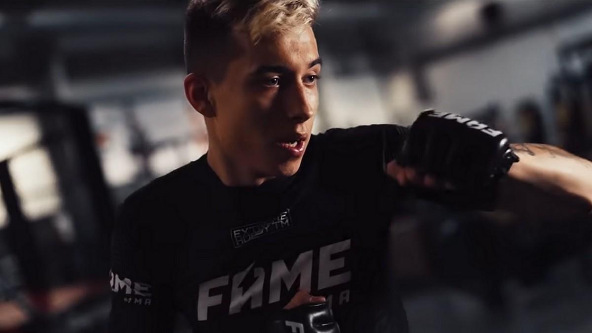 Kim jest Mariusz ''Hejter'' Słoński? Przeciwnik Tomka Olejnika na FAME MMA 7! - MMA PL