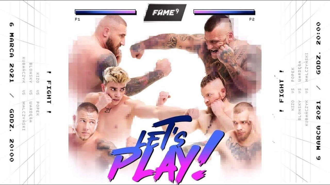 FAME MMA 9: rozpiska, transmisja i godziny rozpoczęcia gali - MMA PL