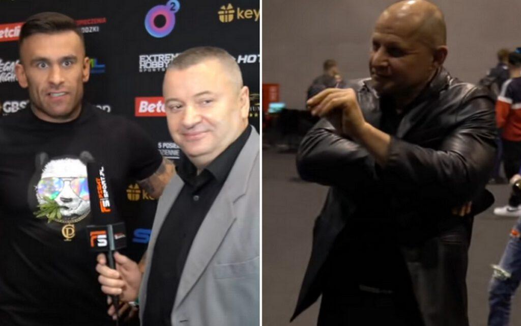 Gorąco za kulisami konferencji prasowej FAME MMA 10 ...