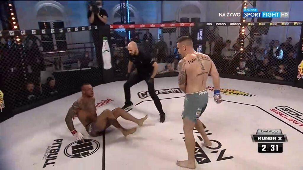Babilon MMA 22 Piotr Wawrzyniak