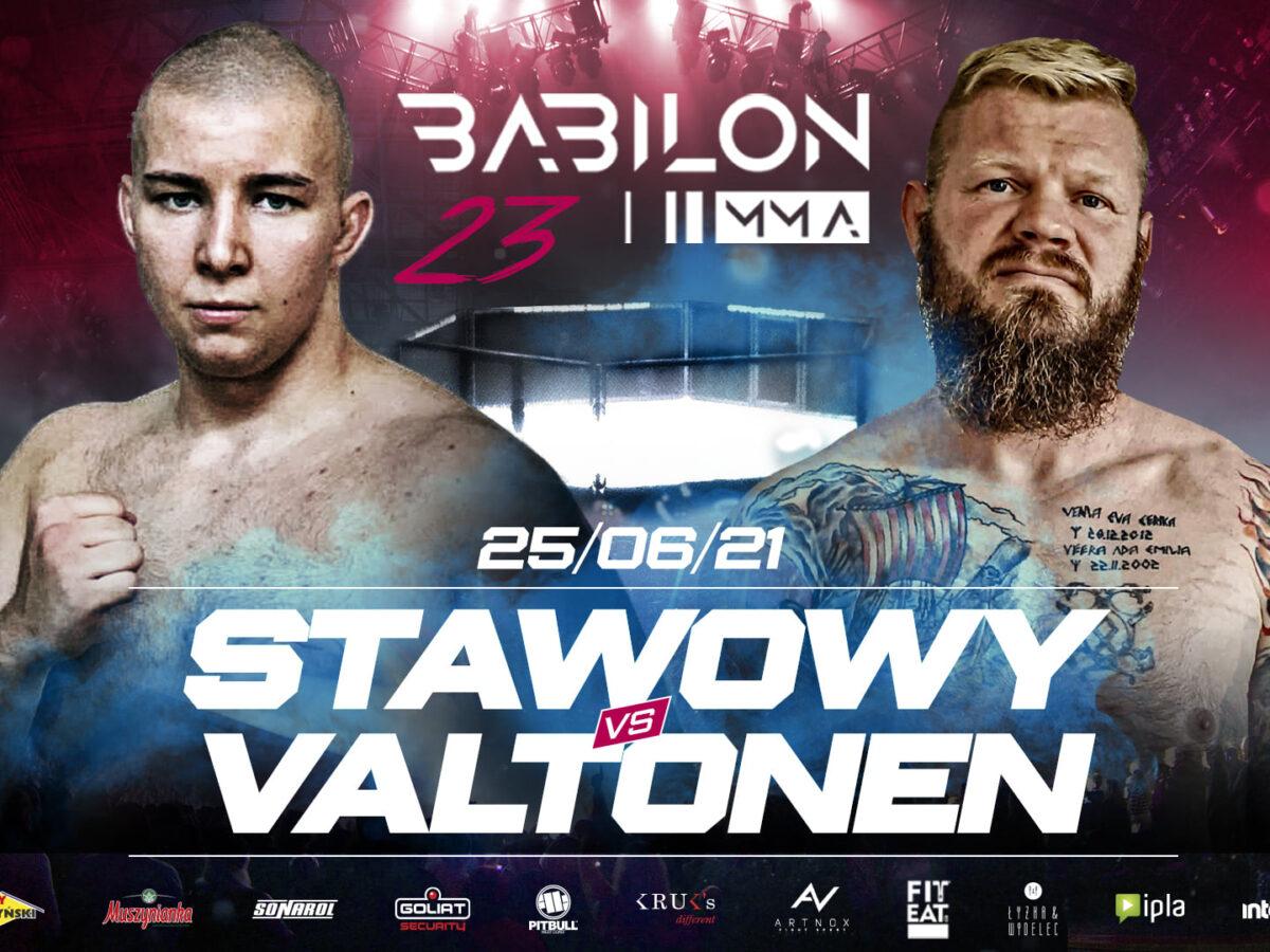 Babilon MMA 23 – rozpiska, transmisja, godziny rozpoczęcia gali - MMA PL